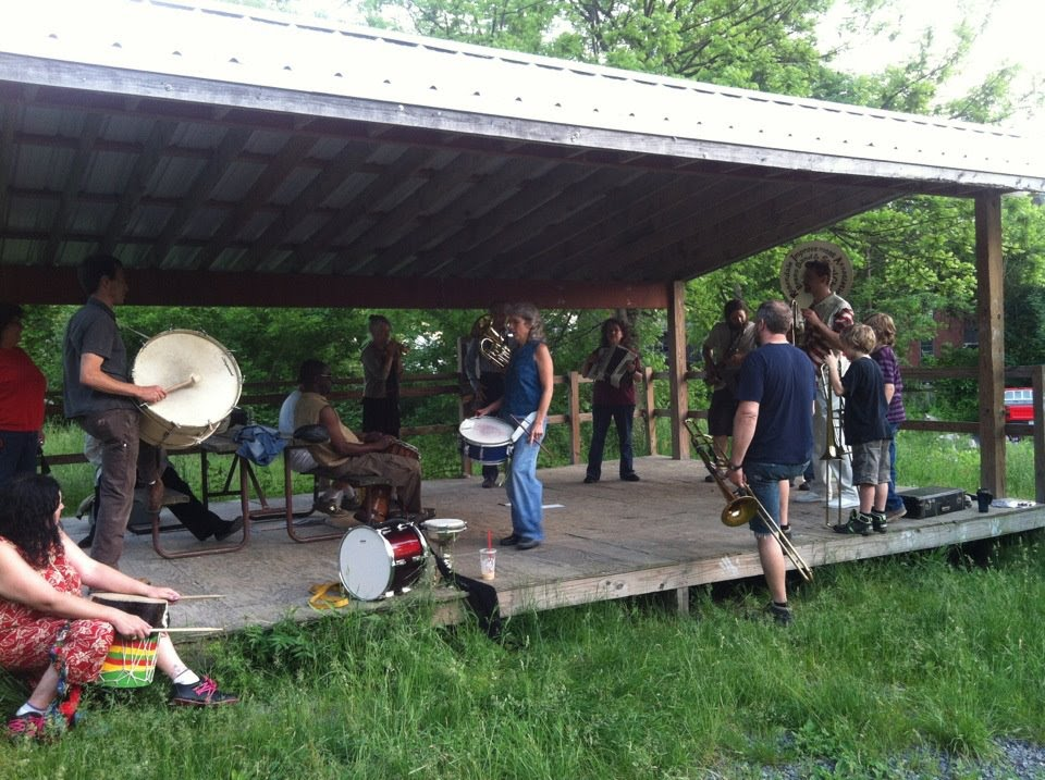 Rehearsal at Willow Kiln Park, Rosendale NY